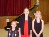 Elizabeth,Kristina,Sofia after April 2010 Recital in Milton.