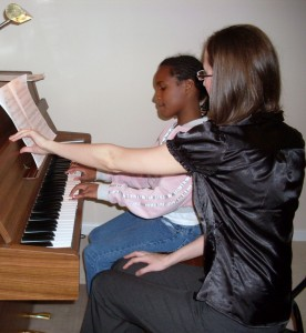 Julia teach piano